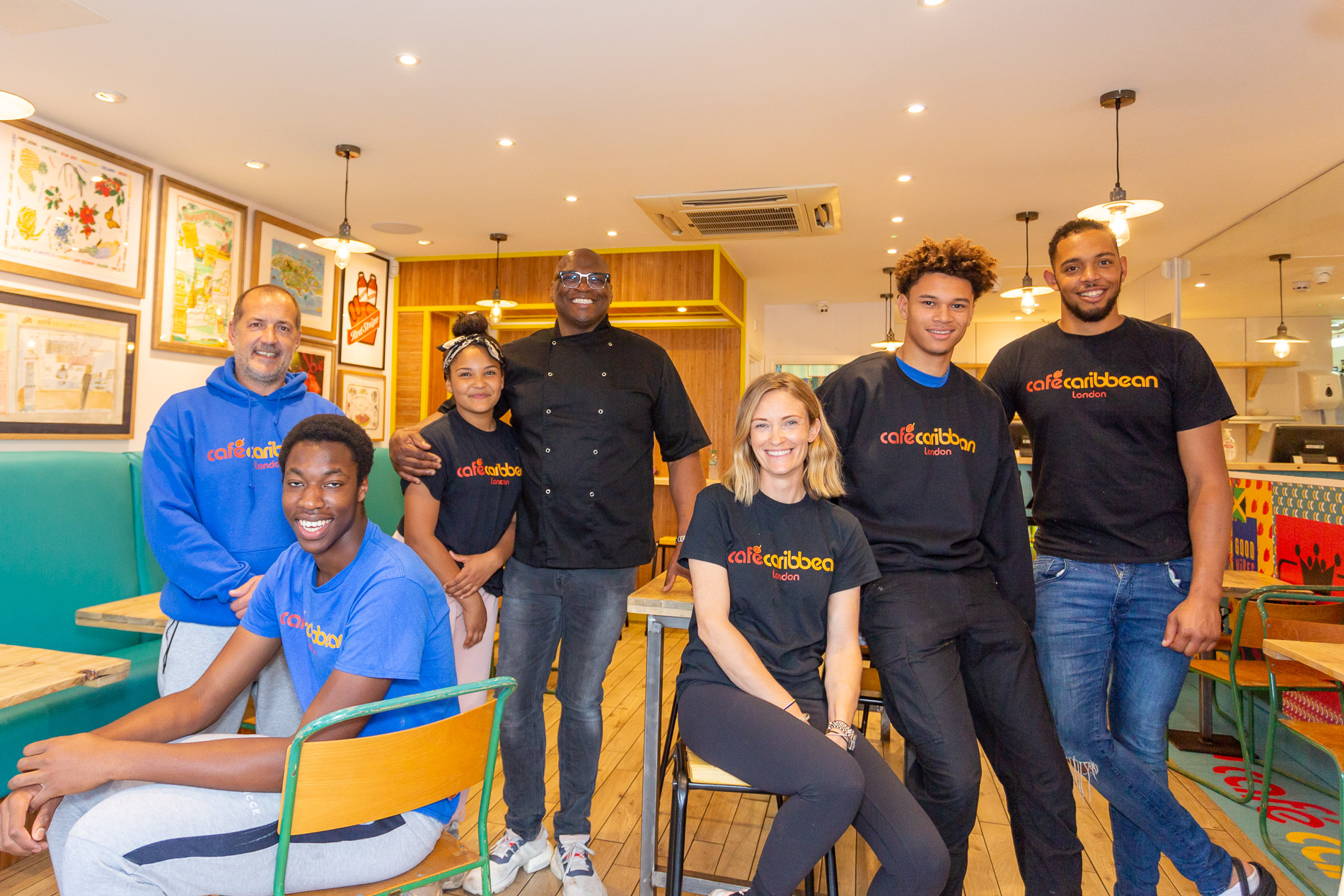 Cafe Caribbean Team Loughton