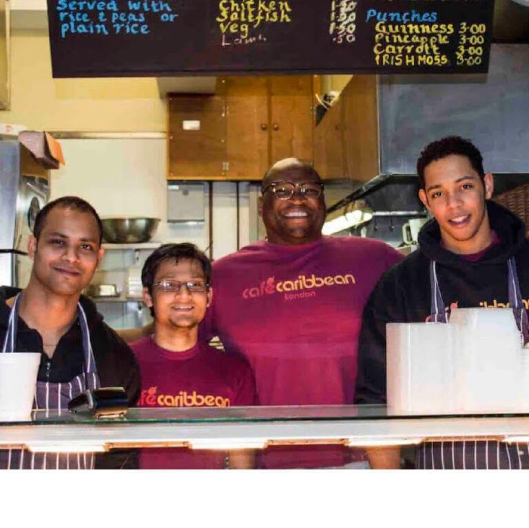 Cafe Caribbean Restaurant Spitalfields